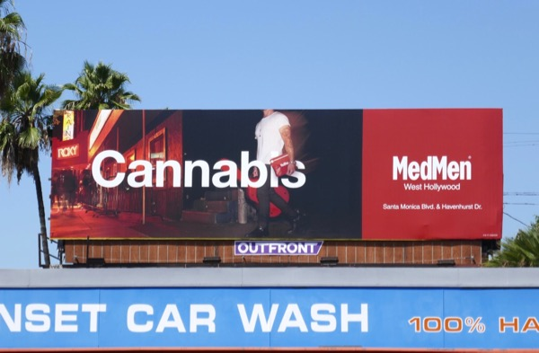 MedMen Cannabis WEHO billboard