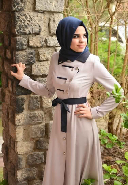 Top 10 des Plus Belles Tenue de Hijab fashion 2017