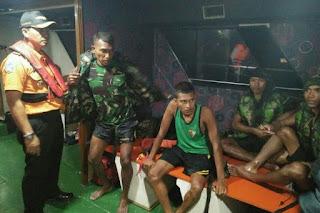 Begini Perjuangan 4 Anggota TNI yang hilang di Tengah Laut hingga Ditemukan Tim SAR
