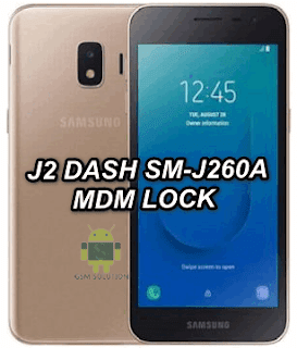 How To Remove Samsung J2 Dash SM-J260A MDM Lock