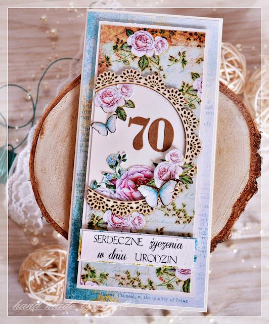 Kwieciste kartki urodzinowe
