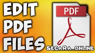 Cara Menambahkan Tulisan pada File PDF Secara Online
