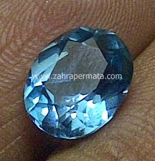 Batu Permata Blue Topaz - ZP 445