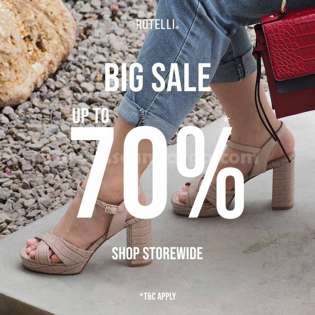 Rotelli Promo Big Sale up to 70% Off Shop Storewide