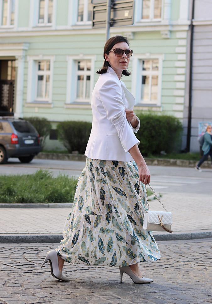długie sukienki blog modowy minimalissmo