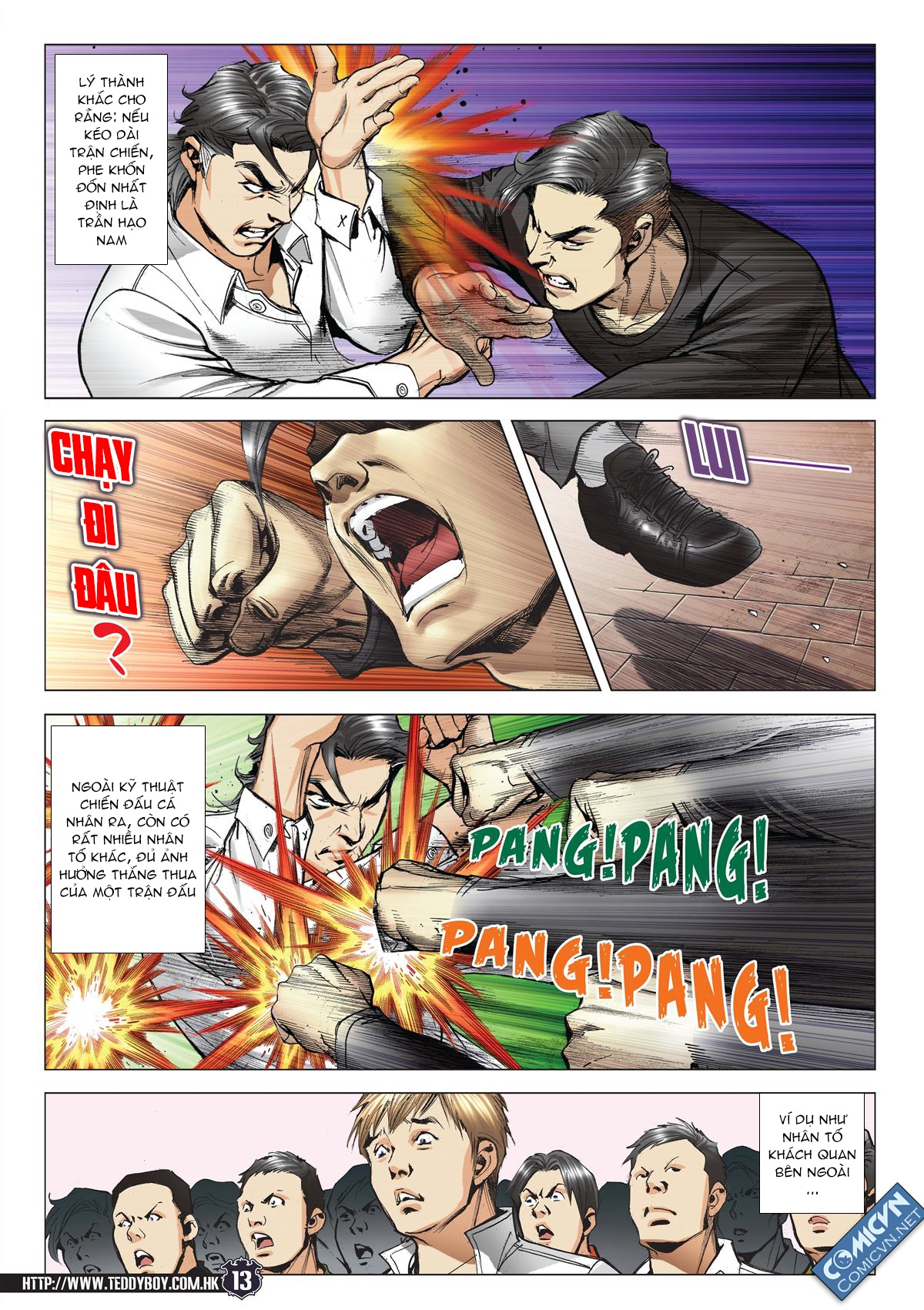 Người Trong Giang Hồ chapter 2093: nó là tay trong trang 12