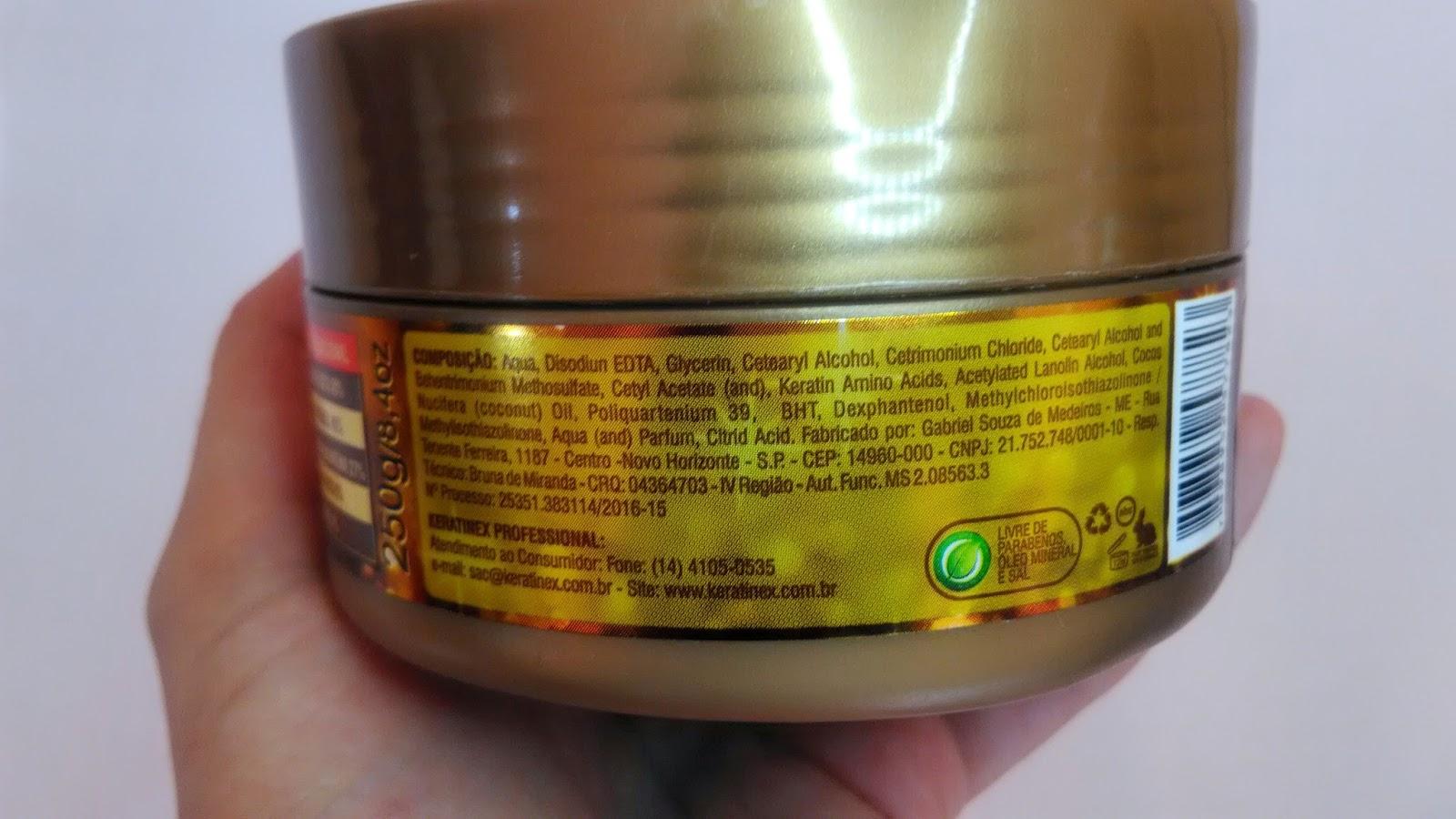 banho de verniz keratinex resenha
