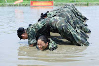 Air Hostess Harsh Physical Training in China