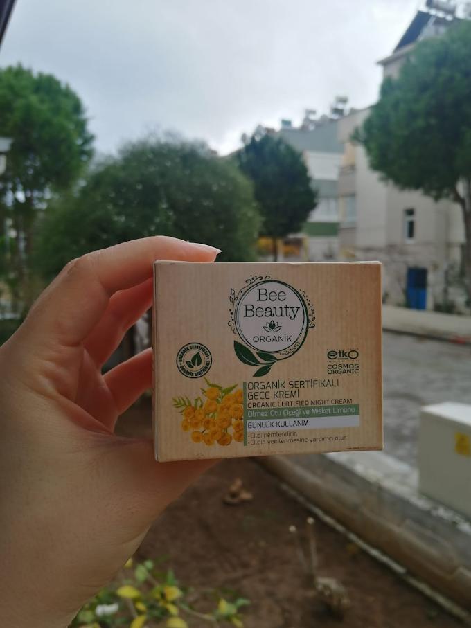 Bee Beauty Organik Sertifikalı Gece Kremi
