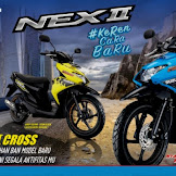 Harga dan Pilihan Warna Suzuki Nex 2 Cross