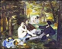 Manet's Le déjeuner sur l'herbe