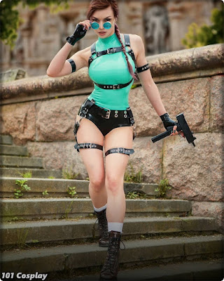 Best Cosplay by Octokuro - Lara Croft