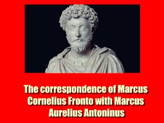 The correspondence of Marcus Cornelius Fronto