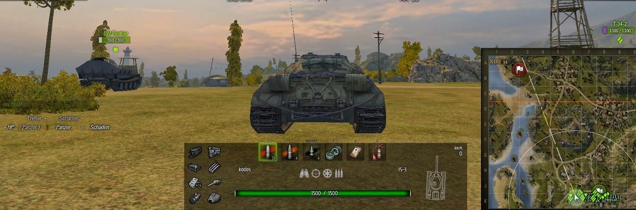 world of tanks damage log mod