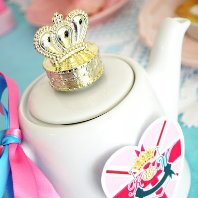 Royal High Tea Party with a British Shabby-Chic Vibe