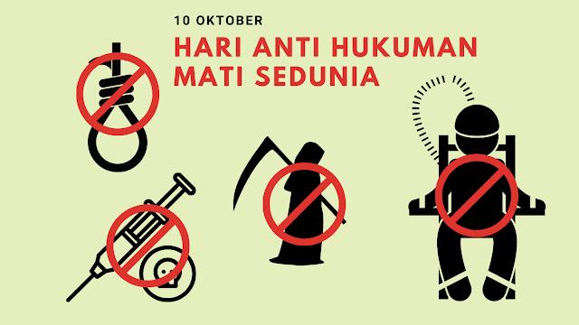 Sejarah Hari Internasional Menentang Hukuman Mati 10 Oktober