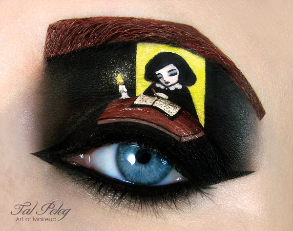 Eye-Makeup Illustrations by Tal Peleg