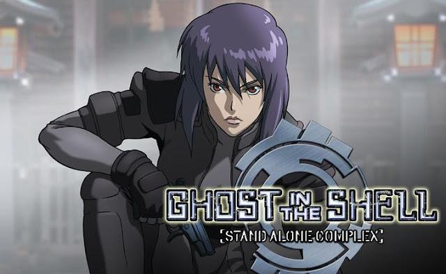 Ghost in the Shell - Anime Tentang Perang Terbaik dan Terkeren (Dari Jaman Kerajaan sampai Masa Depan)