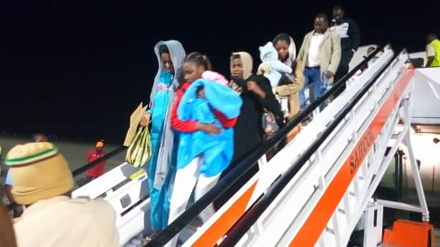 FB IMG 1518510114745 - Photos: Fifth batch of Libyan Returnees arrive in Port Harcourt