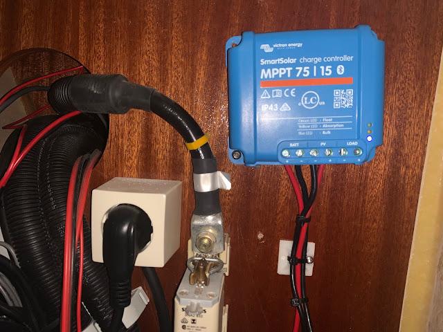 Victron MPPT regulator med Bluetooth