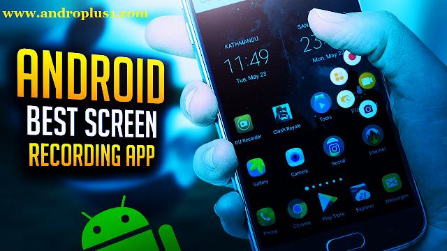 أفضل تطبيقات لتسجيل الشاشة الأندرويد %D8%A7%D9%81%D8%B6%D