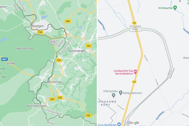 Vennbahn Map