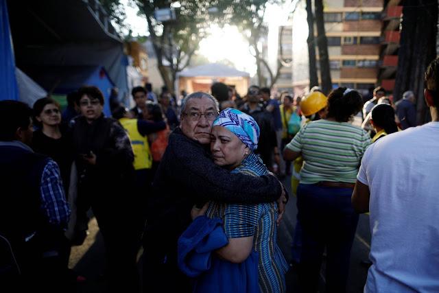 Un fuerte terremoto sacude México