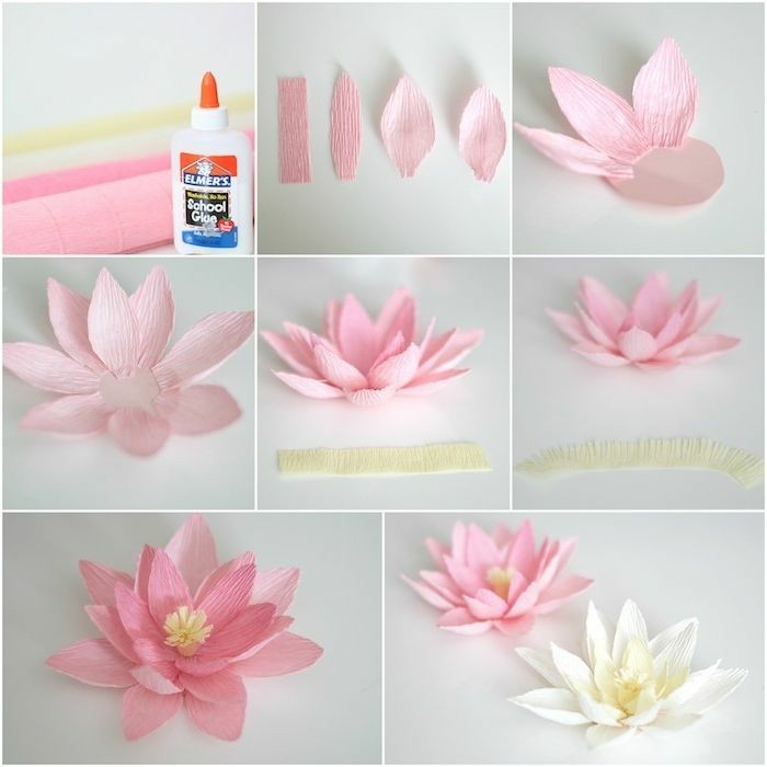 Como fazer flores de papel