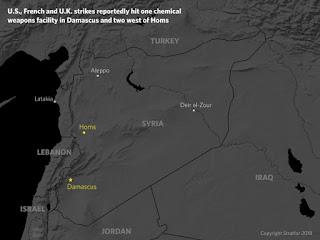Ποιοι είναι οι πραγματικοί στόχοι της επίθεσης στη Συρία