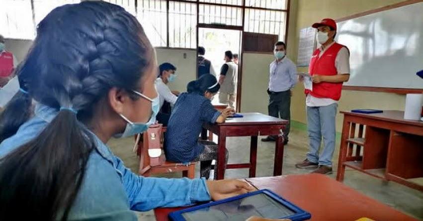 MINEDU: La semipresencialidad permite avanzar en la recuperación de aprendizajes, sostiene el Ministro de Educación, Juan Cadillo