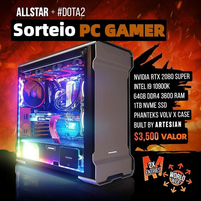 SORTEIO de um SUPER PC GAMER Para Criador de conteúdo
