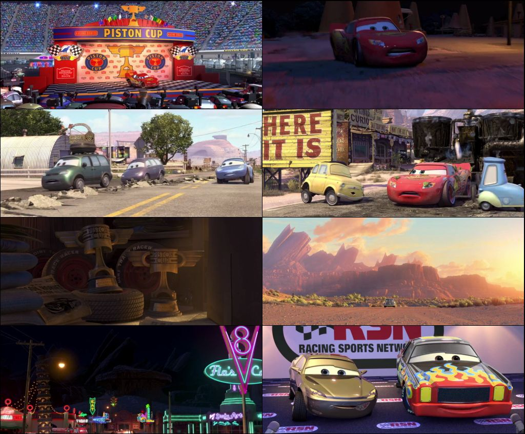 Cars 2006 Dual Audio 720p BluRay