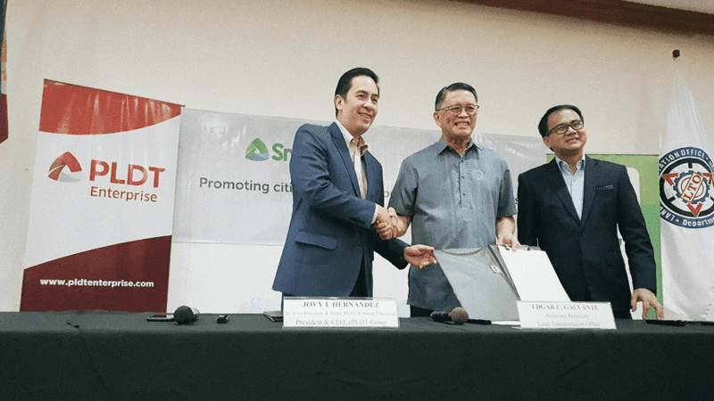 Smart and LTO signed a deal for FREE WiFi