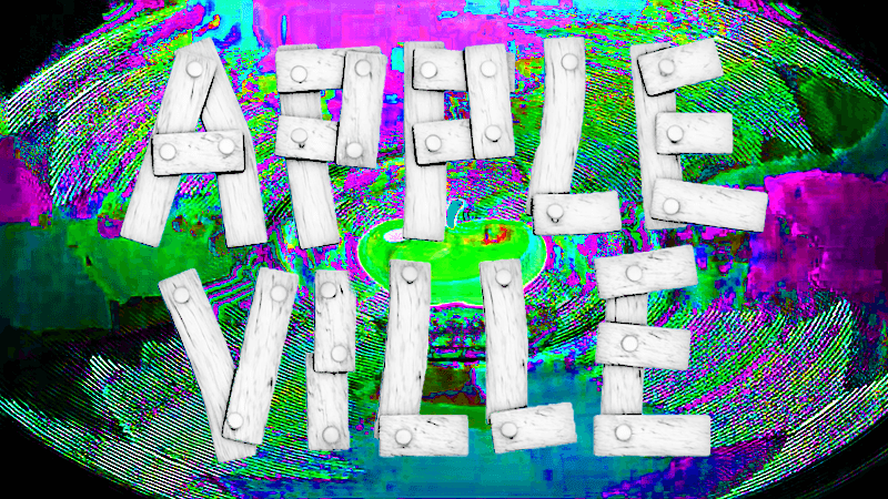 Distorted Appleville Graphic