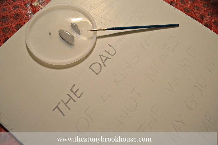 painting words