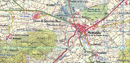 Resultado de imagen de mapa topografico