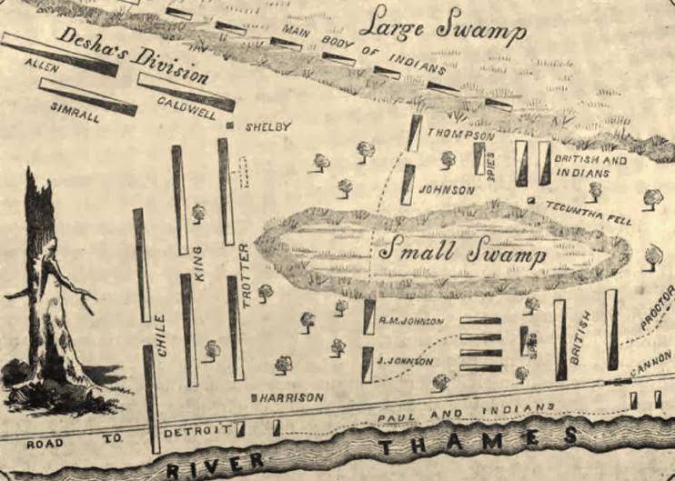 War of 1812: Battle of Thames - Battle of Tohopeka
