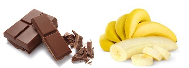 Bananes - Chocolat