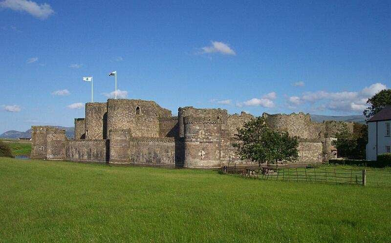 Beaumaris Castle Burg