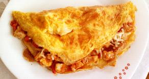 tortilla francesa con relleno