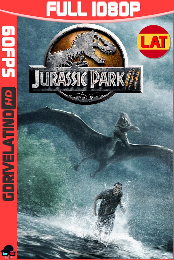 Jurassic Park 3 (2001) BDRip 1080p (60fps) Latino-Ingles MKV