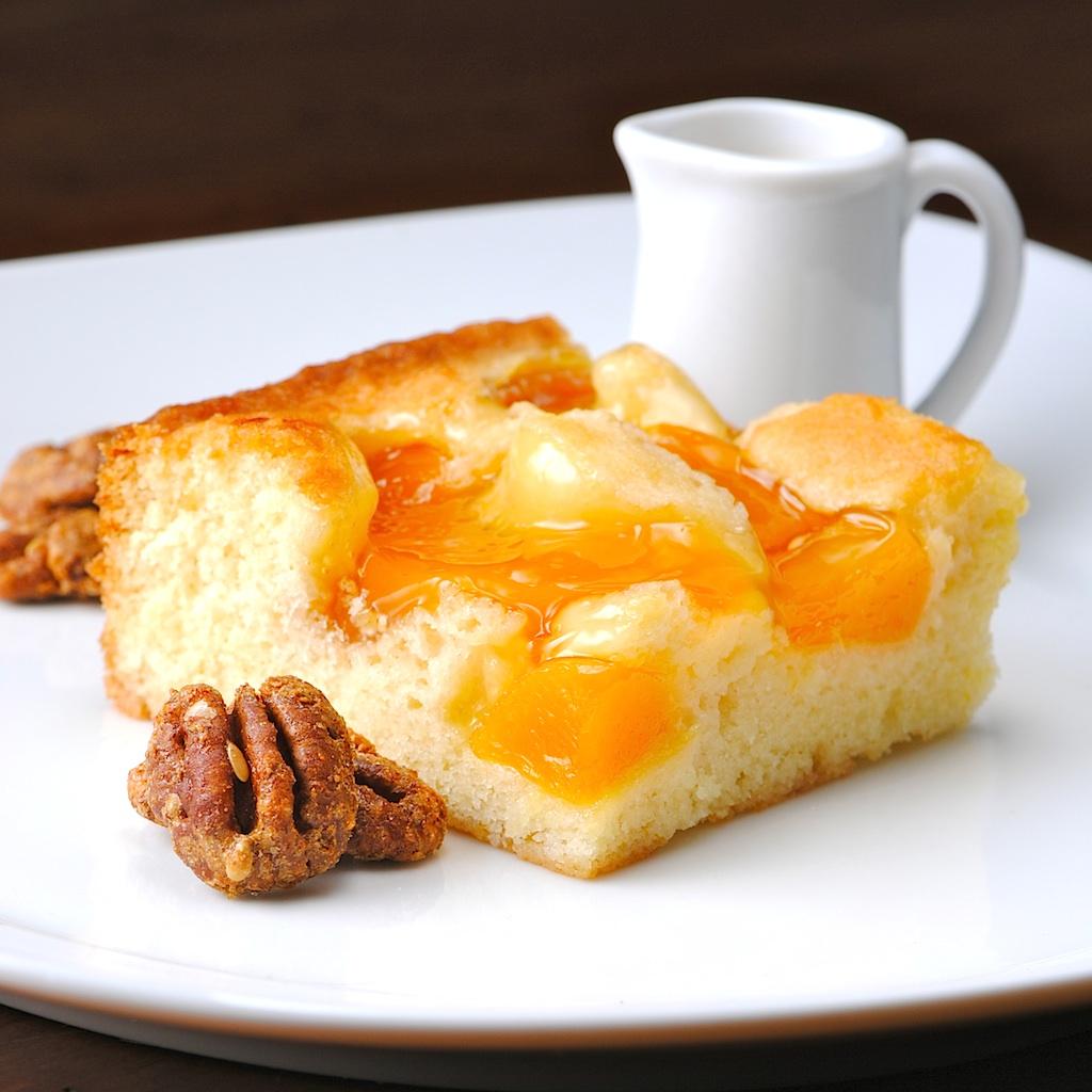 Peach Cream Cake Filling