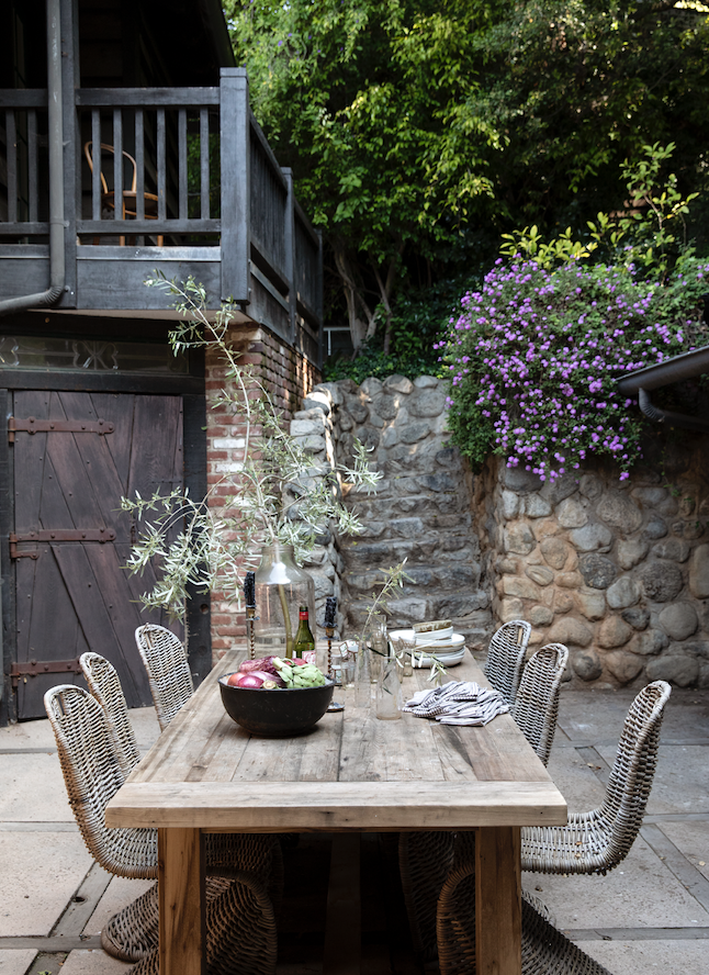 Décor Inspiration: Interior Designer Leanne Ford's Former Rustic Canyon Home