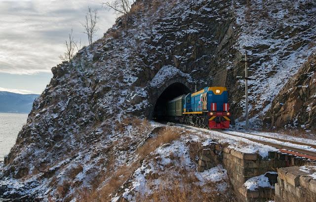 Самый длинный в мире маршрут пассажирских поездов