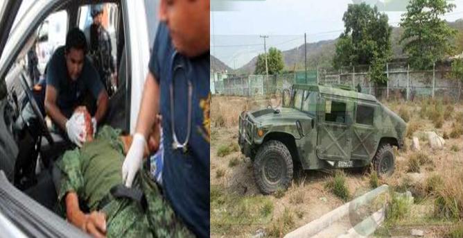 CD VICTORIA TAMAULIPAS: TRAS VOLCADURA 12 MILITARES HERIDOS; 4 DE GRAVEDAD EN ALDAMA