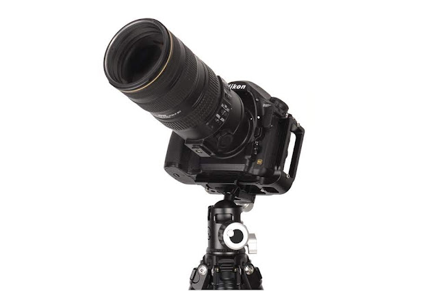 Sunwayfoto EB-36 EPIC series ball head on T2C40N Traveller tripod