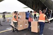 Panglima TNI Perintahkan TNI AU Kerahkan Hercules Kirim Alkes ke Wilayah Sumatera