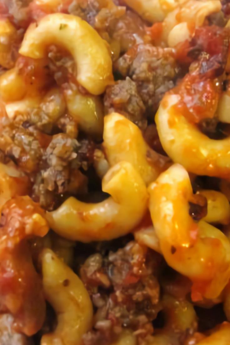 Jolean's Italian Sausage Casserole
