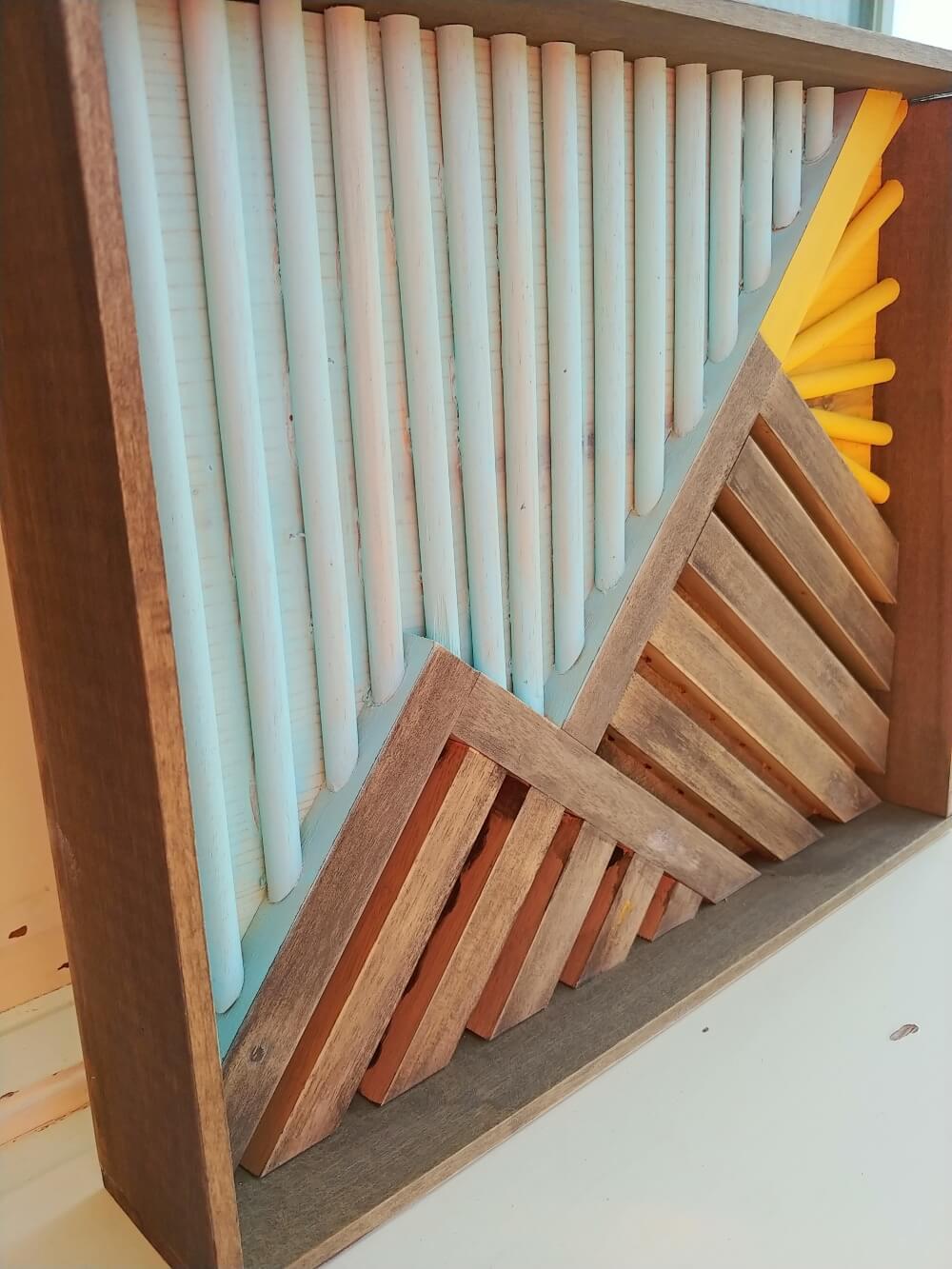 Repurposed Pasta Drying Rack