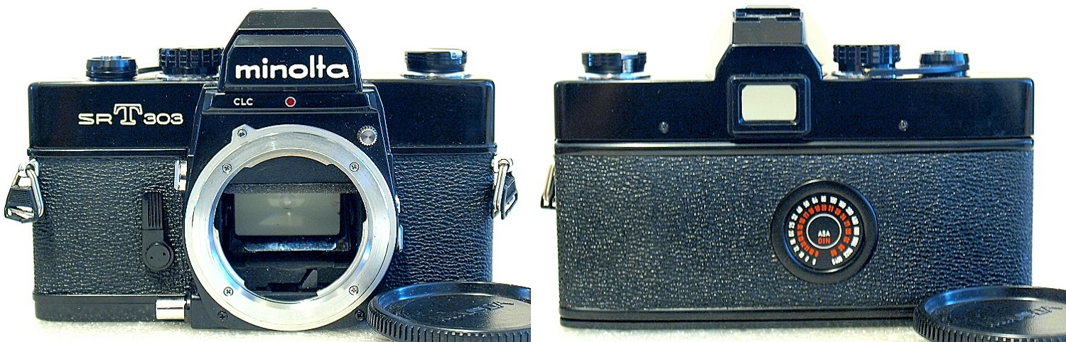 Minolta SRT-303 (Black) Body #417